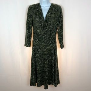 Connected Apparel long sleeve knit dress 6